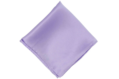 Periwinkle Purple Silk Pocket Square