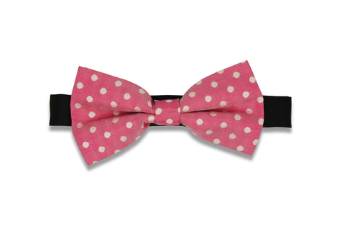 Punch Dotted Bow Tie (PRE-TIED)