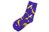 Purple Banana Men's Socks