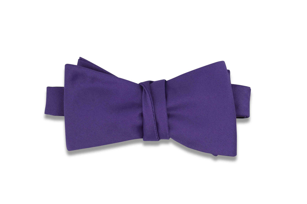 Purple Bow Tie (Self-Tie)