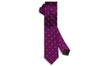 Purple Maid Silk Skinny Tie