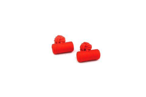 Red Barrel Cufflinks