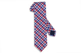 Red Strike Cotton Tie