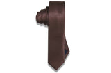 Rich Chocolate Skinny Tie