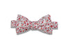 Rose Flowers Cotton Bow Tie  (pre-tied)