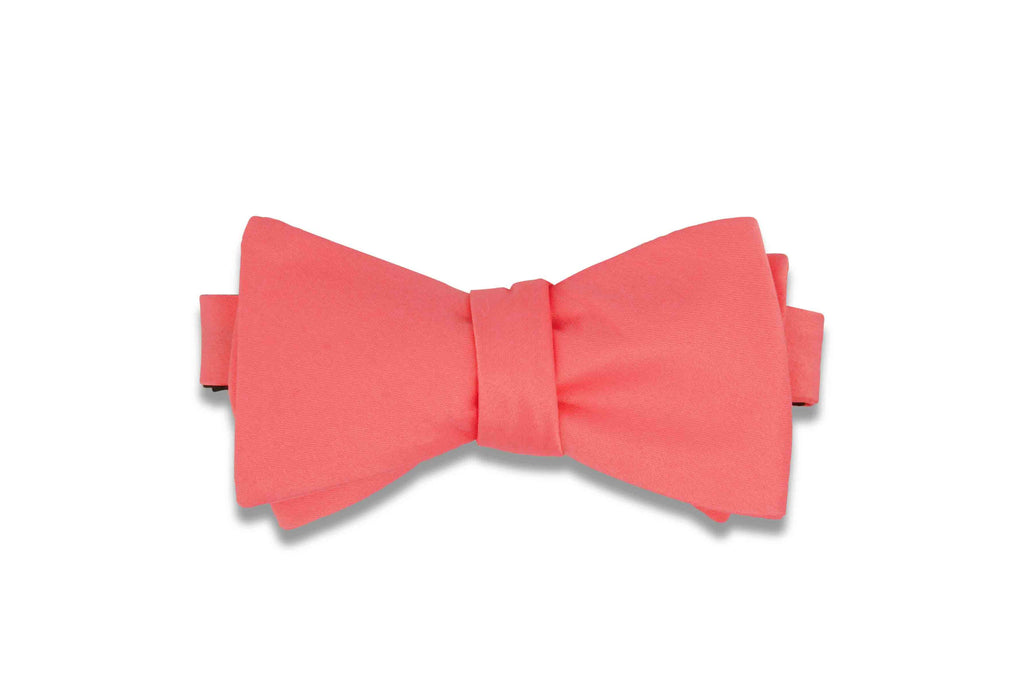 Rouge Pink Bow Tie (Self-Tie)