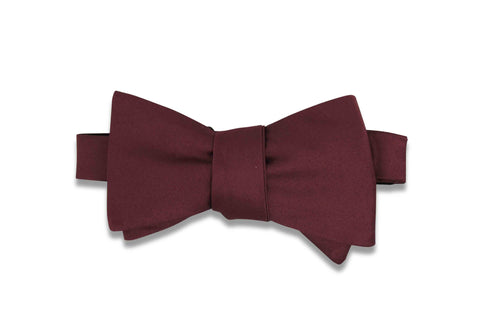 Sangria Purple Bow Tie (Self-Tie)