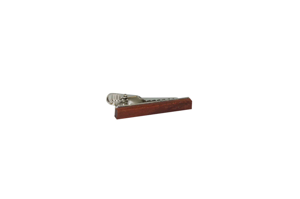 Sapele Wood Skinny Tie Bar