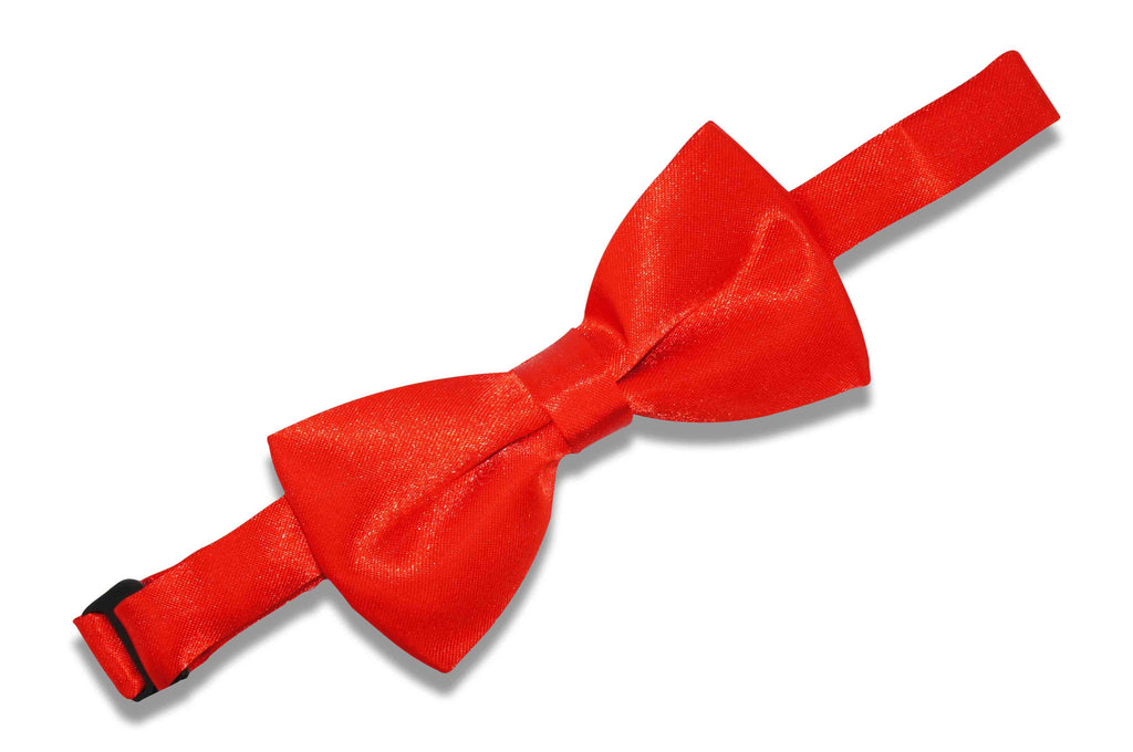 Scarlet Red Bow Tie (Boys)