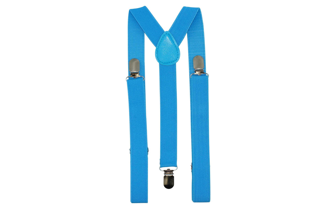 Sky Blue Suspenders