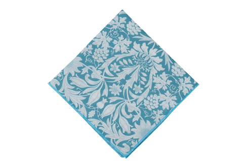 Sky Garden Cotton Pocket Square