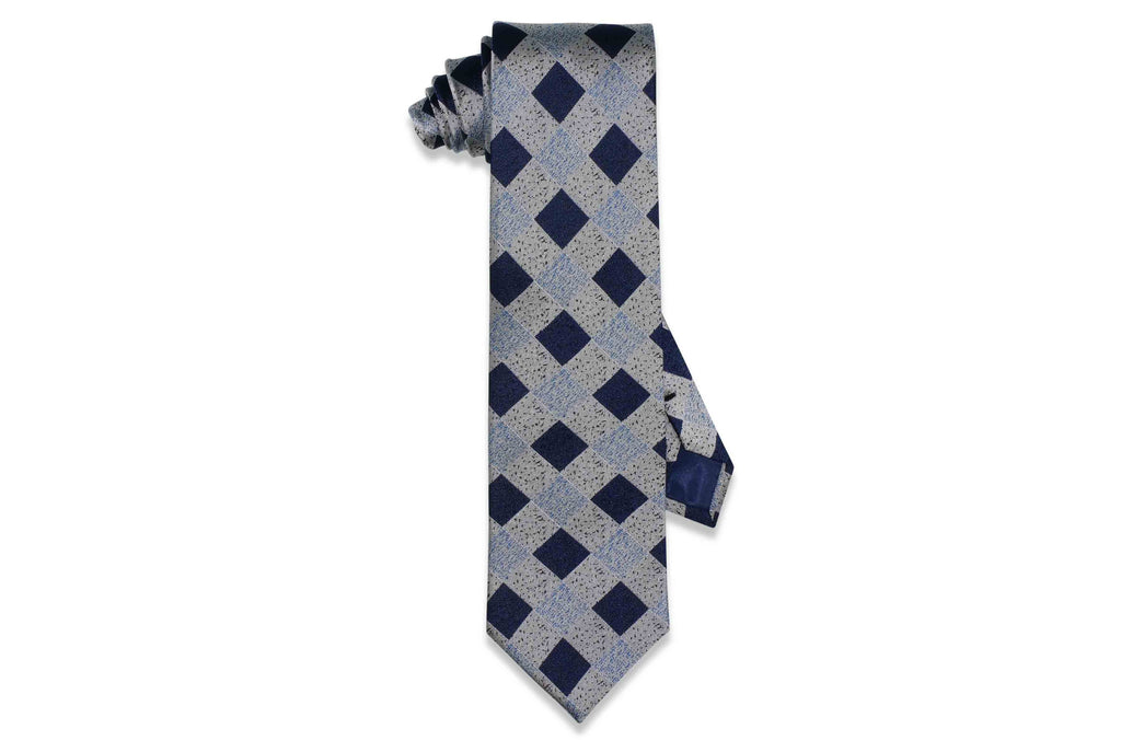 Sprinkle Blocks Silk Tie