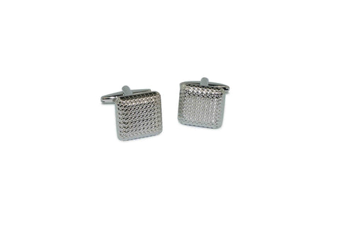 Square Textured Cufflinks