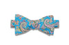 Summer Paisley Cotton Bow Tie (self-tie)