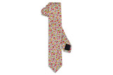 Sun Flowers Cotton Skinny Tie