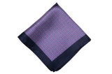 Tom Purple Silk Pocket Square