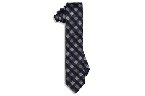 Triple Stripes Silk Skinny Tie