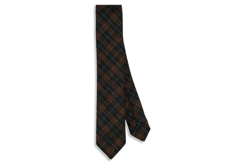 Triple Stripes Wool Skinny Tie