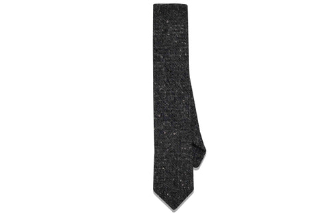 Winter Fog Wool Skinny Tie