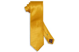 Yellow Gold Silk Tie