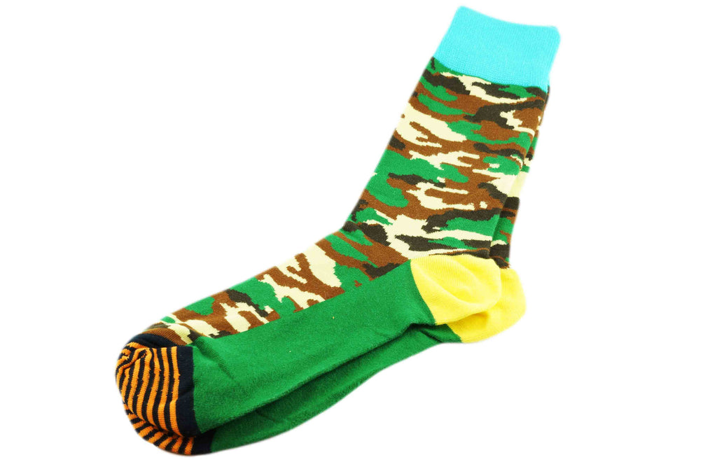 Yellow Heel Camo Men