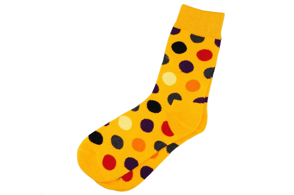 Yellow Polka Dot Men