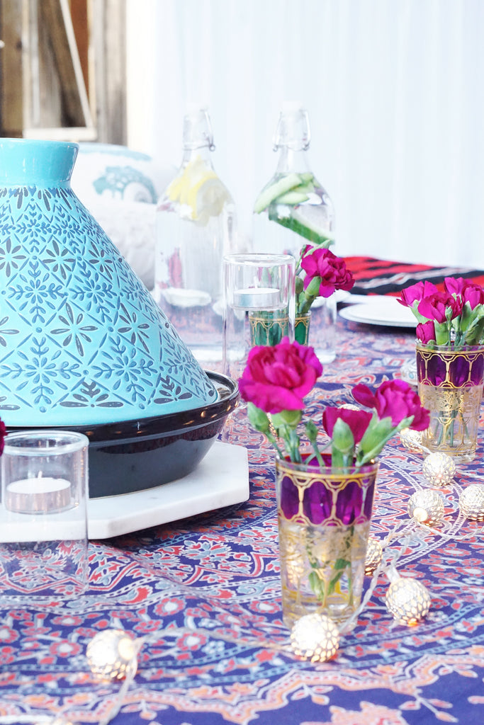moroccan cup decoration flower vase