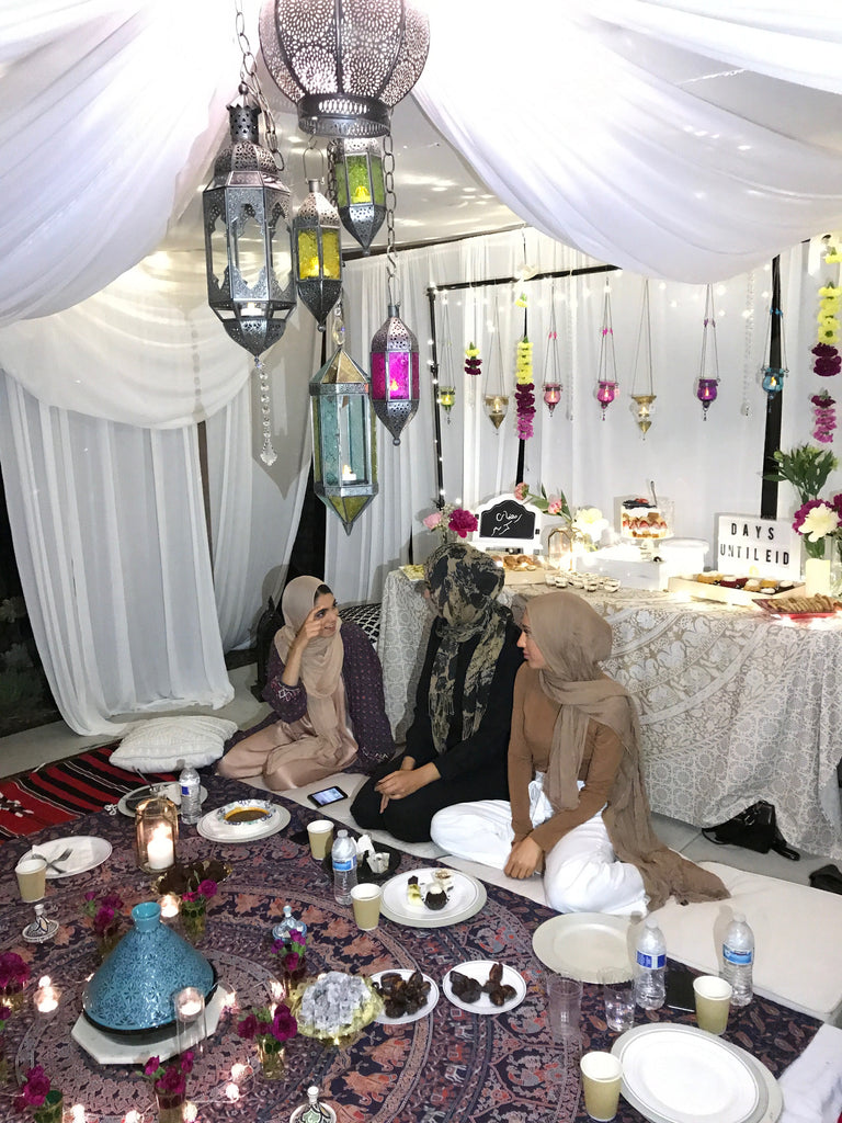 moroccan iftar party decoration set up