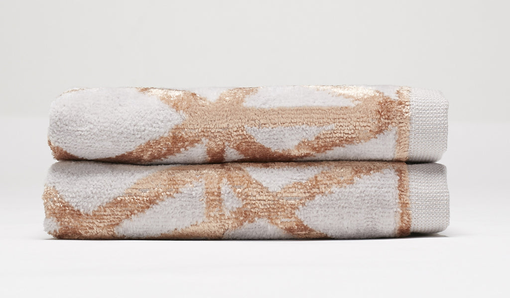Diamond Hand Towel Set