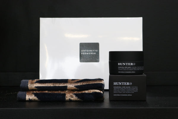 Hunter Sapphire Wash Cloth Set