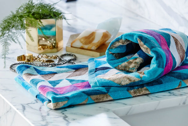 Peacock Hand Towel Set