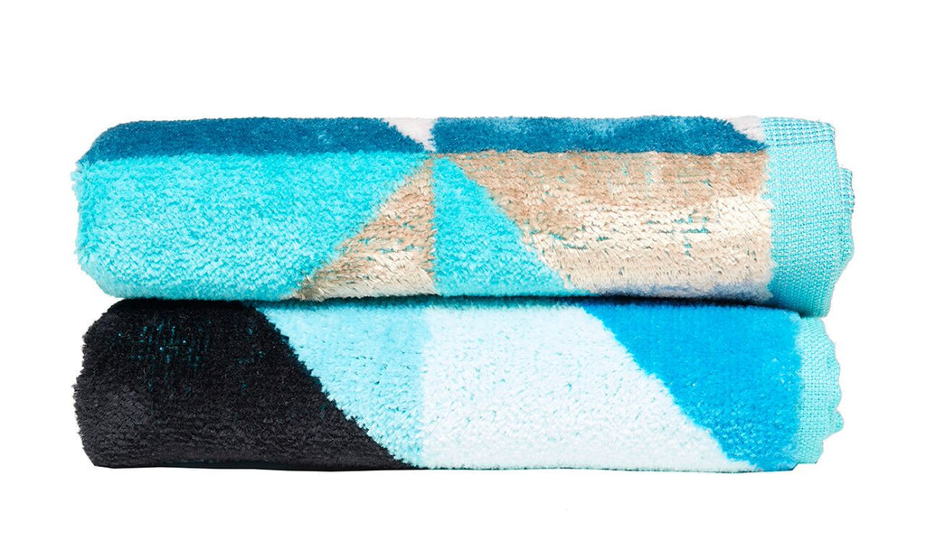Peacock Wash Cloth Set