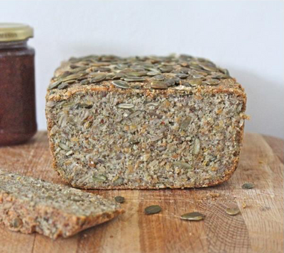 Superfood bread by Delicously Ella