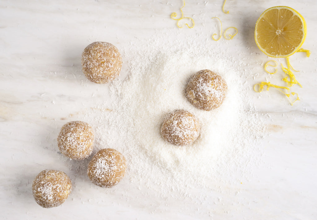Lemon, Coconut & Maple Truffles | Franjo's Kitchen