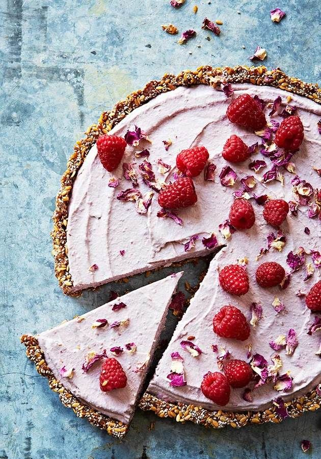 Raspberry, lemon and orange raw cheesecake | Franjo's Kitchen