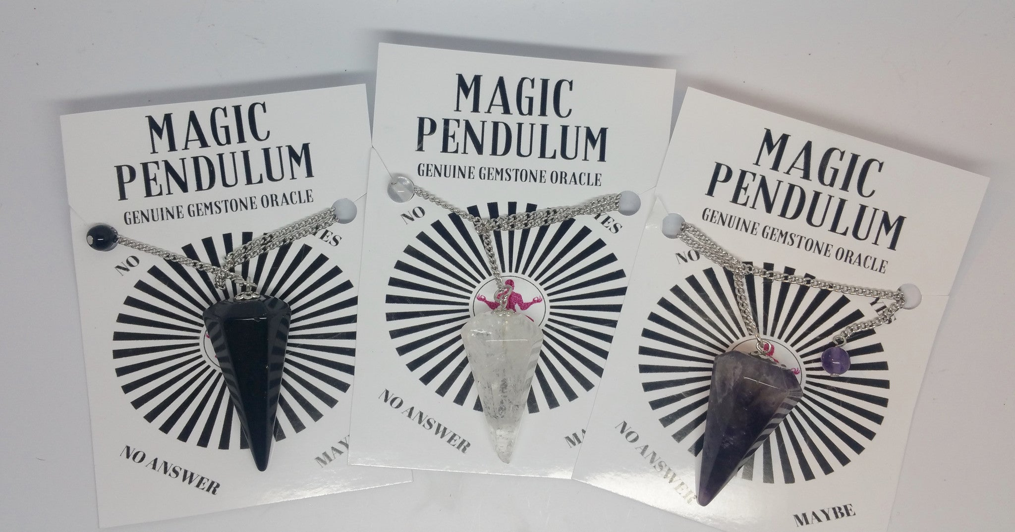 Magic Pendulum -Genuine Gemstone Oracle - Pretty Princess Style  - 2