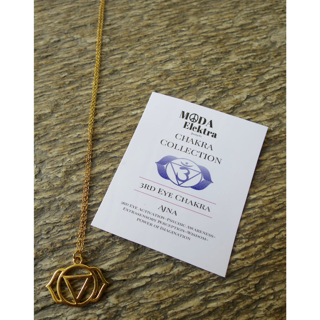 Chakra Collection 3rd Eye Chakra- Ajna Necklace - Pretty Princess Style