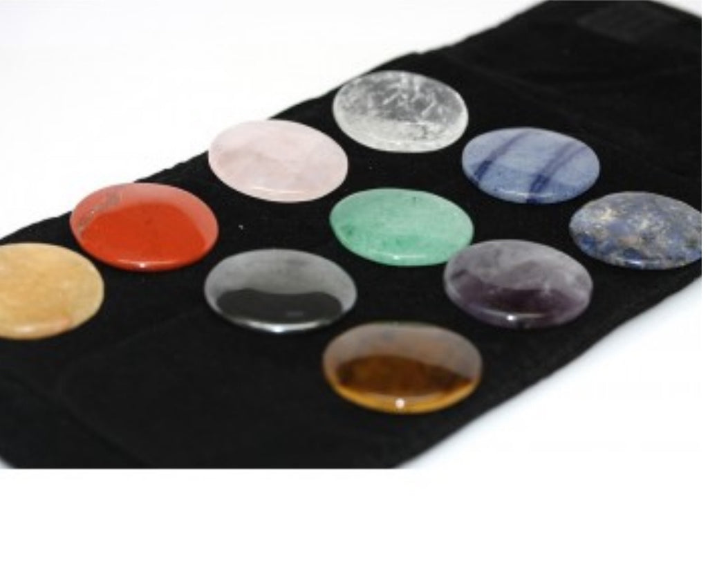 10 Pc Chakra Healing Set - Pretty Princess Style