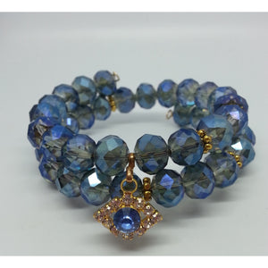 Evil Eye Protection Crystal Power Bracelet - Pretty Princess Style