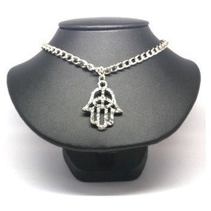 Hamsa Protection Necklace - Pretty Princess Style