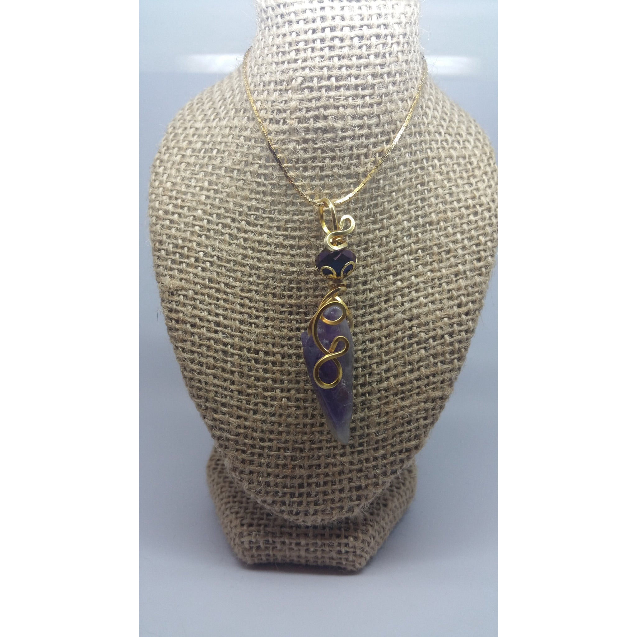 Amethyst Power Pendant - Pretty Princess Style