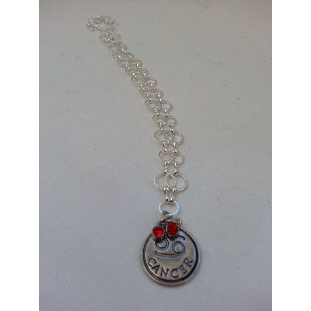Astrology- Caring Cancer Power Pendant &  Necklace - Pretty Princess Style