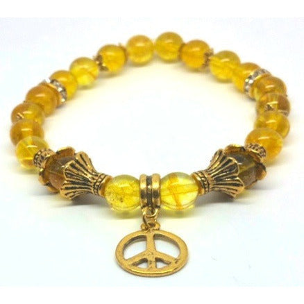 Golden Citrine Power Bracelet - Pretty Princess Style  - 2