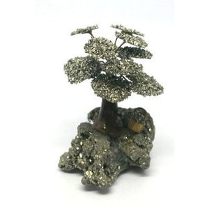 Pyrite Stone  Prosperity Tree - Pretty Princess Style
