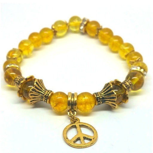 Golden Citrine Power Bracelet - Pretty Princess Style