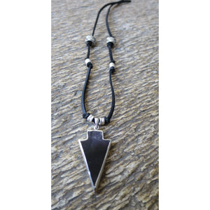 Amethyst Arrow Power Necklace - Pretty Princess Style
