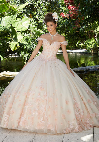 Morilee Vizcaya Quinceanera Dress Style 34015