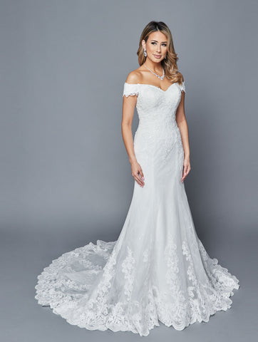 Lovely Wedding Dress Style 403