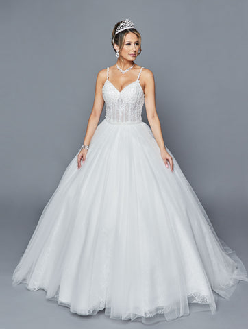 Lovely Wedding Dress Style 404