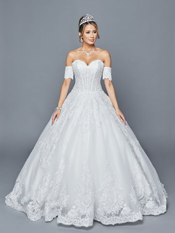 Lovely Wedding Dress Style 405